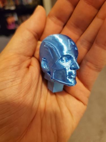 Captain America Standing - 3D Printed parts